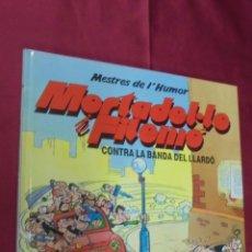 Comics - MESTRES DE L'HUMOR Nº 3 . MORTADEL·LO I FILEMÓ. CONTRA LA BANDA DEL LLARDÓ. ED. B 1990. EN CATALÁ. - 58682706