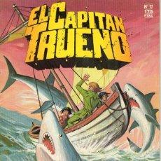 Cómics: CAPITÁN TRUENO Nº 77 ( EDICIÓN HISTÓRICA ) EDICIONES B. Lote 58745652