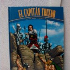 Cómics: EL CAPITÁN TRUENO -LAS HORDA DE AKBAR Y LAS RUINAS DE TINTAGEL- TAPA DURA. Lote 58745760
