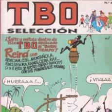 Cómics: TBO SELECCIÓN Nº 5 - NÚM. 76,77,79 - EDICIONES B - 1983.. Lote 58968600