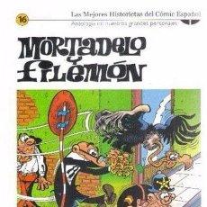 Cómics: LAS MEJORES HISTORIETAS DEL COMIC ESPAÑOL EL MUNDO Nº 16. Lote 59628275