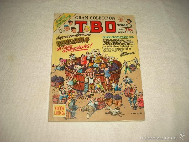 GRAN COLECCION TBO , TOMO 2 . ESPECIAL COLECCIONISTAS , EDICION LIMITADA CONTIENE LOS N° 5,6,7 Y 8 (Tebeos y Comics - Ediciones B - Clásicos Españoles)