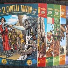 Cómics: LOTE CAPITAN TRUENO EXTRA, LOTE DE 7 EJEMPLARES V. MORA, EDICIONES B, 1998, Nº 1, 2, 3, 6, 7, 8,10. Lote 60098063