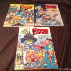 Cómics: 3 NÚMEROS SUPERLÓPEZ 14, 17, 20 PRIMERA EDICIÓN 1993. Lote 60210031