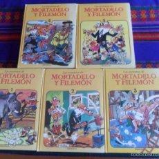 Cómics: LAS AVENTURAS DE MORTADELO Y FILEMÓN TOMO 1 2 3 4 5 COMPLETA. EDICIONES B 1ª ED 1994.. Lote 60334527