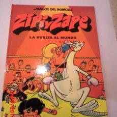 Cómics: ZIPI Y ZAPE - LA VUELTA AL MUNDO - NUM 13 MAGOS DEL HUMOR - TAPA DURA- ESCOBAR - EDICIONES B 2000. Lote 60372211