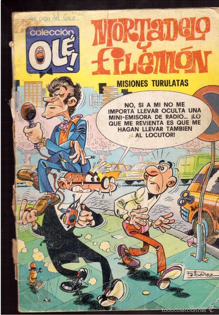 MORTADELO Y FILEMON (Tebeos y Comics - Ediciones B - Clásicos Españoles)