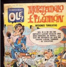 Cómics: MORTADELO Y FILEMON. Lote 60790775