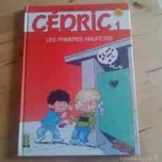 Cómics: CEDRIC - 1 - LES PRIMERES MALIFETES. Lote 73766513