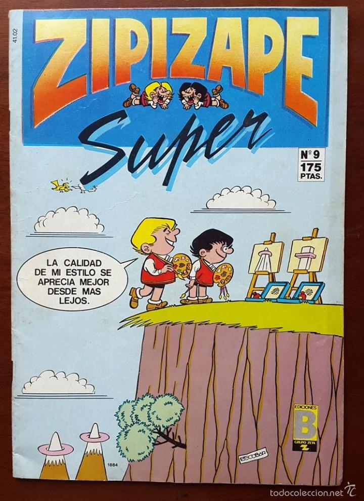ZIPIZAPE SUPER. NÚMERO: 9 (EDICIÓN 1987) (Tebeos y Comics - Ediciones B - Clásicos Españoles)