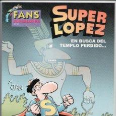 Cómics: FANS SUPER LOPEZ Nº 51 ED.B 1ª EDICIÓN 2008 -NUEVO-. Lote 61857112