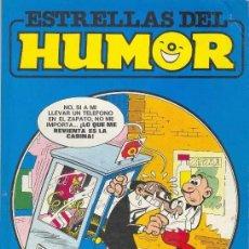 Cómics: ESTRELLAS DEL HUMOR Nº 8 MORTADELO Y FILEMON-ZIPI Y ZAPE-PEPE GOTERA-SACARINO-. Lote 62076788