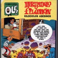 Cómics: COLECCIÓN OLÉ ! - MORTADELO Y FILEMON Nº 205-M.137-EDICIONES B-1ª EDICIÓN 1989. Lote 62104188