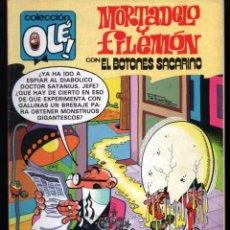 Comics: COLECCIÓN OLÉ! - MORTADELO Y FILEMÓN - SACARINO EDICIONES B - Nº 232 - M27 - 2ª EDICIÓN - JULIO 1987. Lote 62128644
