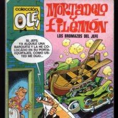 Comics: COLECCIÓN OLÉ Nº 112 M2 MORTADELO Y FILEMÓN - LOS BROMAZOS DEL JEFE (EDICIONES B) 1987. Lote 62128688