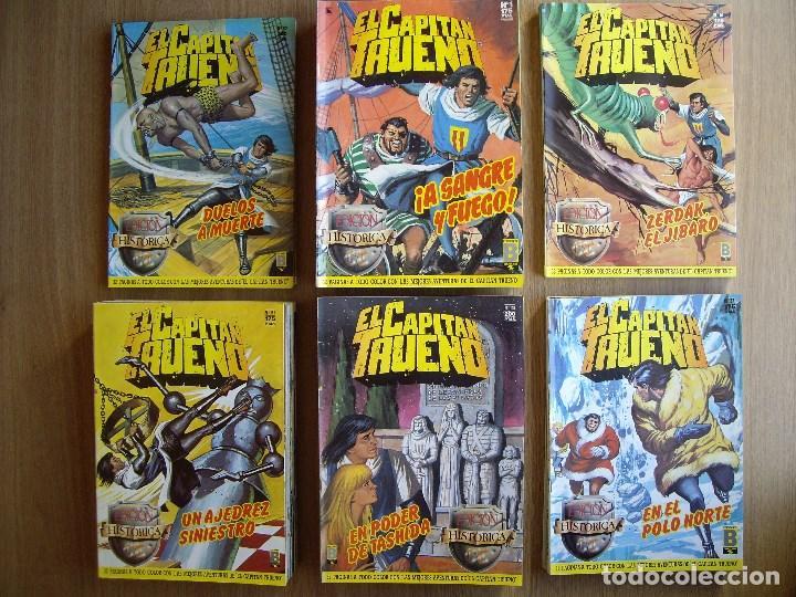 EL CAPITAN TRUENO. Nº: 136,140,141,143 (Tebeos y Comics - Ediciones B - Clásicos Españoles)