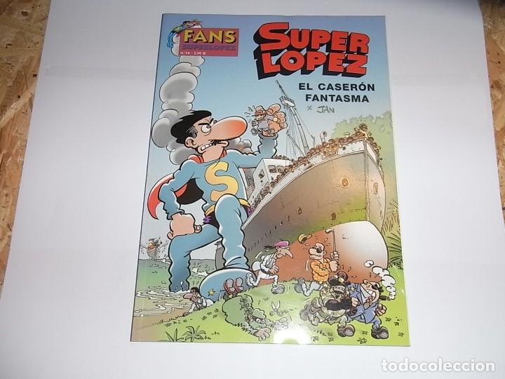 SUPER LOPEZ, EL CASERON FANTASMA, 38 (Tebeos y Comics - Ediciones B - Humor)