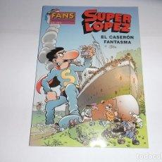 Cómics: SUPER LOPEZ, EL CASERON FANTASMA, 38. Lote 62684316