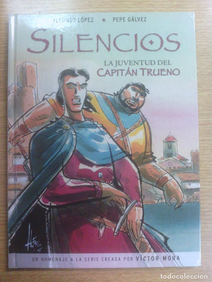 SILENCIOS - LA JUVENTUD DEL CAPITAN TRUENO (Tebeos y Comics - Ediciones B - Clásicos Españoles)