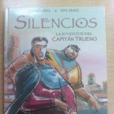 Cómics: SILENCIOS - LA JUVENTUD DEL CAPITAN TRUENO. Lote 62685580