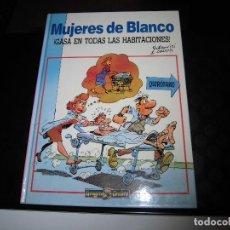 Cómics: MUJERES DE BLANCO.GASA EN TODAS LAS HABITACIONES.EDICIONES B.DRAGON COMICS 1990.-1ª EDICION. Lote 62876268