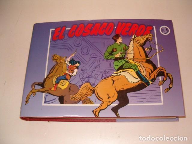 VÍCTOR MORA, FERNANDO COSTA. EL COSACO VERDE. Nº 3. RMT77049. (Tebeos y Comics - Ediciones B - Clásicos Españoles)