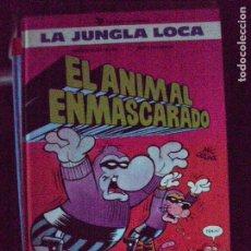Cómics: LA JUNGLA LOCA. Nº 1. EL ANIMAL ENMASCARADO. EDICIONES B. - TAPA DURA. Lote 63409072