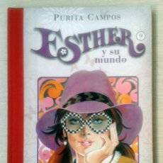 Cómics: ESTHER Y SU MUNDO 9. PURA CAMPOS. EDICIONES B. Lote 63623895