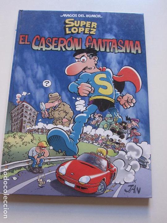 MAGOS DEL HUMOR SUPER LOPEZ Nº 90 EL CASERON FANTASMA JAN EDICIONES B E6 (Tebeos y Comics - Ediciones B - Humor)