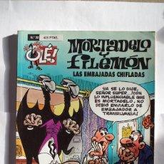 Cómics: MORTADELO Y FILEMON Nº 32 LAS EMBAJADAS CHIFLADAS - OLE - EDICIONES B - AÑO 1998. Lote 64650731
