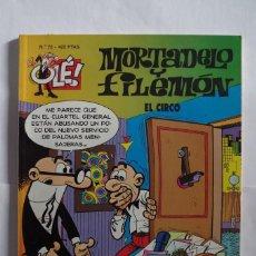 Cómics: MORTADELO Y FILEMON Nº 72 EL CIRCO - OLE - EDICIONES B - AÑO 1999 . Lote 64650971