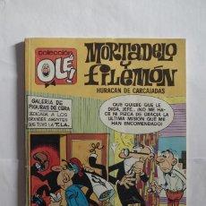 Cómics: MORTADELO Y FILEMON Nº 138 - M.8 HURACAN DE CARCAJADAS - OLE - EDICIONES B - AÑO 1991. Lote 64651163