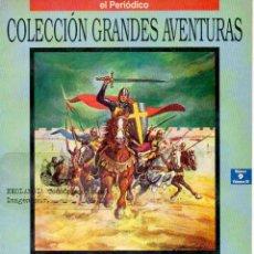Cómics: T10A HISTORIA DE UN GUERRERO EKL COMICS GRANDES AVENTURAS, EL PERIODICO, EDICIONES B, COLECCIÓN ANTI. Lote 209931017