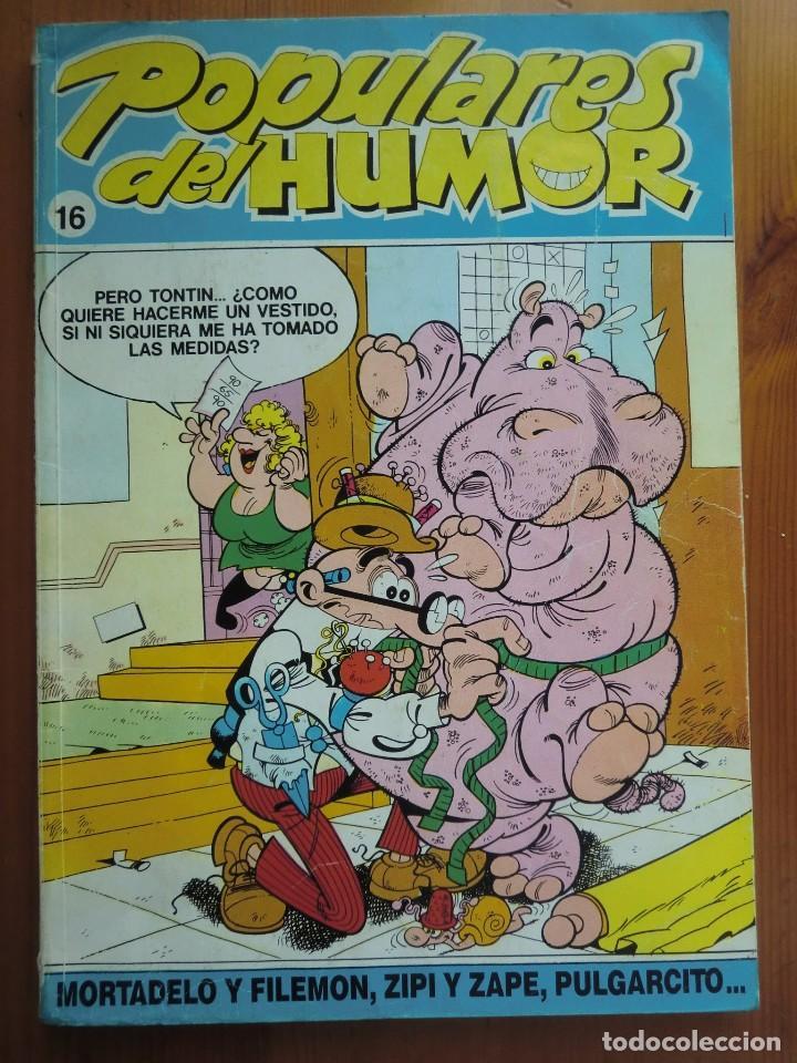 TEBEO CÓMIC POPULARES DEL HUMOR Nº 16 (1987) DE EDICIONES B. BUEN ESTADO (Tebeos y Comics - Ediciones B - Humor)