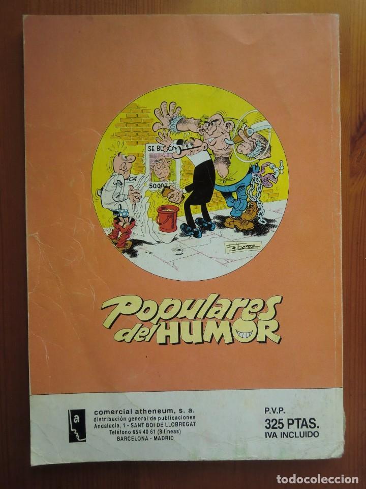 Cómics: Tebeo cómic POPULARES DEL HUMOR Nº 16 (1987) de EDICIONES B. Buen estado - Foto 4 - 65921038