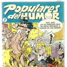 Cómics: POPULARES DEL HUMOR Nº 7 - EDICIONES B. Lote 66272346