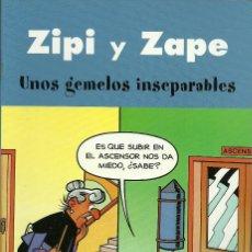 Cómics: ZIPI Y ZAPE - UNOS GEMELOS INSEPARABLES - EDICIONES B. Lote 66774086