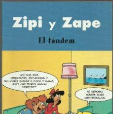 Cómics: ZIPI Y ZAPE - EL TÁNDEM - EDICIONES B. Lote 66774578
