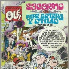 Cómics: SACARINO CON PEPE GOTERA Y OTILIO Nº 122 - L1 - EDICIONES B 5ª EDICION MARZO 1987. Lote 66778030