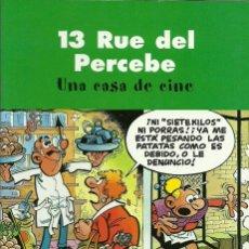 Cómics: 13 RUE DEL PERCEBE - UNA CASA DE CINE - EDICIONES B. Lote 66807086