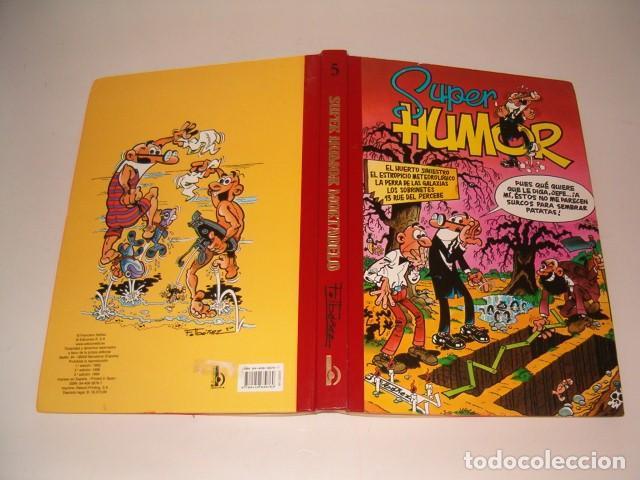 FRANCISCO IBAÑEZ. SÚPER HUMOR Nº 5. RMT77458. (Tebeos y Comics - Ediciones B - Humor)