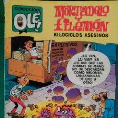Cómics: MORTADELO Y FILEMON Nº 205 M.137 - EDICIONES B 1ª EDICIÓN MAYO 1989 - COLECCION OLÉ!. Lote 66903510