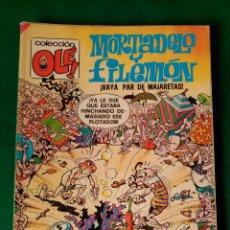 Cómics: MORTADELO Y FILEMON Nº 134 M. 141 - EDICIONES B 1ª EDICIÓN JULIO 1989 - COLECCION OLÉ!. Lote 66904830