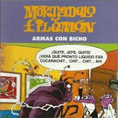 Cómics: MORTADELO Y FILEMON - ARMAS CON BICHO - EDICIONES B. Lote 66905622