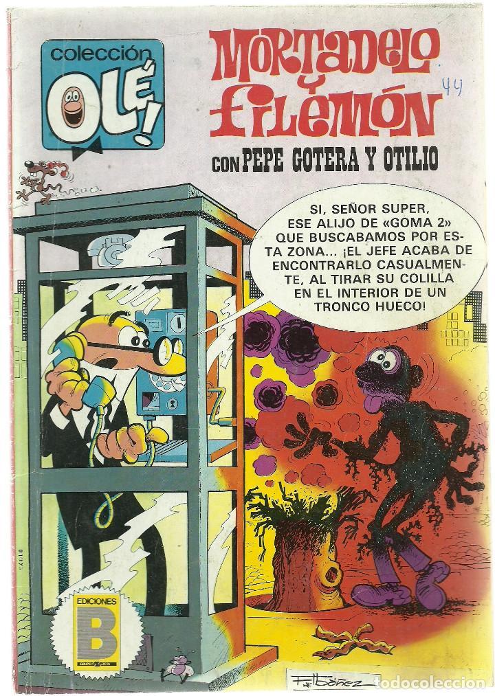 MORTADELO Y FILEMON CON PEPE GOTERA Y OTILIO Nº 241 - M34 - EDICIONES B 2ª EDICION JULIO 1987 (Tebeos y Comics - Ediciones B - Humor)