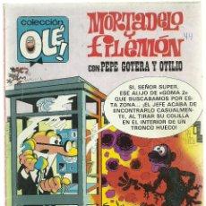 Cómics: MORTADELO Y FILEMON CON PEPE GOTERA Y OTILIO Nº 241 - M34 - EDICIONES B 2ª EDICION JULIO 1987. Lote 66958746