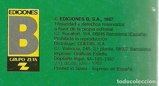 Cómics: MORTADELO Y FILEMON CON PEPE GOTERA Y OTILIO Nº 241 - M34 - EDICIONES B 2ª EDICION JULIO 1987 - Foto 2 - 66958746