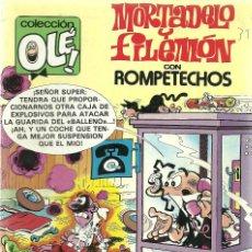 Cómics: MORTADELO Y FILEMON CON ROMPETECHOS Nº 229 - M26 - EDICIONES B 2ª EDICION JUNIO 1987. Lote 66959034