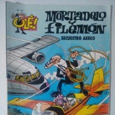 Comics - MORTADELO Y FILEMÓN,SECUESTRO AÉREO OLÉ! N°41 EDICIONES B (1996) - 66967895