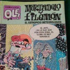 Cómics: MORTADELO Y FILEMON Nº 330 M. 89 - EDICIONES B 1ª EDICIÓN OCTUBRE 1988 - COLECCION OLÉ!. Lote 67031502